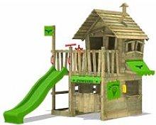 FATMOOSE Parque infantil de madera CountryCow con