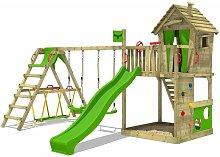 FATMOOSE Parque infantil de madera HappyHome con