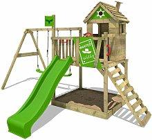 FATMOOSE Parque infantil de madera RockyRanch con