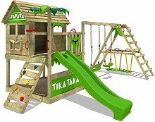 FATMOOSE Parque infantil de madera TikaTaka con
