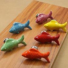 fbshop (TM) 6pcs 55mm Colorful de peces forma