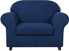 FDQNDXF Fundas para sillas, 2 Piezas, granulado,