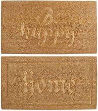 FELPUDO LINA HOME/BE HAPPY 75CM - modelo - HAPPY