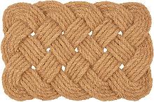 Felpudo trenzado de cuerda 40x60