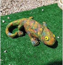 Figura de Piedra Decorativa Jardín Camaleón