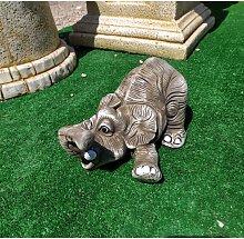 Figura de Piedra Decorativa Jardín Elefante