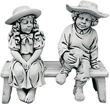 Figura decorativa Banco con niños en