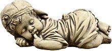 Figura decorativa Bebe Niño en hormigón-piedra