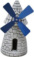 Figura decorativa de Molino en hormigón-piedra