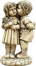 Figura decorativa de Niños Besandose en