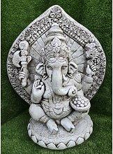 Figura decorativa Ganesha 58x31x72cm. de