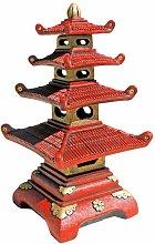 Figura decorativa Pagoda 48x89cm. hormigón-piedra
