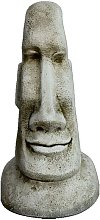Figura estatua Cabeza de Pascua Moai de