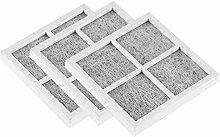 Filtro de nevera, 3 piezas de repuesto de filtro