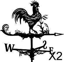 FLAMEER 2xMetal Black Rooster Veleta Veleta