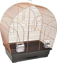 FLAMINGO Jaula para pájaros Saga cobre 51x28x55 cm