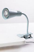 Flexo LED con Pinza Boku Verde Aguamarina Sklum