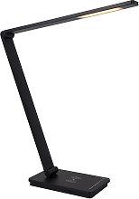 Flexo Led ULI Phone 9W con cargador inalámbrico