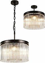 Florero design lámpara colgante 5 bombillas