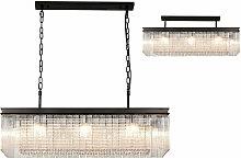 Florero lámpara colgante de diseño 11 bombillas