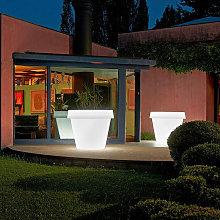 Florero luminoso para plantas de diseño Big Gio