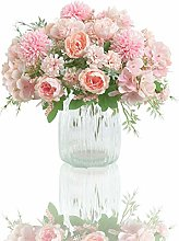 Flores Artificiales, Paquete de 2 Decoraciones de