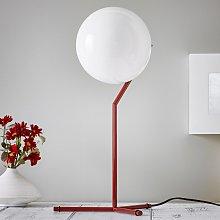 FLOS IC T1 High lámpara de mesa burdeos-rojo