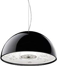 FLOS Skygarden Small lámpara colgante, negro