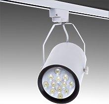 Foco Carril LED 12W 1200Lm 30.000H Taylor | Blanco