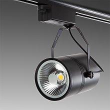 Foco Carril LED 20W 2000Lm 30.000H Natalia | Negro