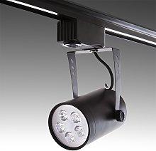 Foco Carril LED 5W 500Lm 30.000H Ximena | Negro -