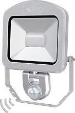 Foco Charlottenburg sensor plata 30W 3.000K