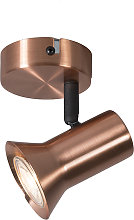 Foco cobre giratorio e inclinable - KARIN 1