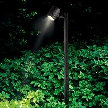 Foco con pica Borneo 1 luz, ajustable