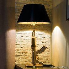 Foco de atención - lámp. mesa TABLE GUN, dorado