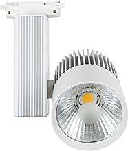 Foco de Carril LED 30W G8002 Monofásico Blanco