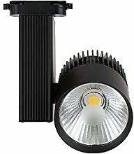 Foco de Carril LED 30W Monofásico G8002-B Negro