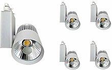 Foco de Carril LED 30W Monofásico G8002 (PACK 5)