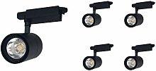 Foco de Carril LED COB 30W G8005 (Pack 5) Negro