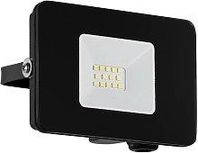 Foco de exterior LED Faedo 3 en negro, 10W