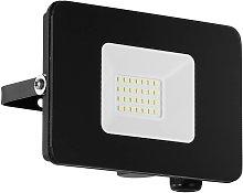 Foco de exterior LED Faedo 3 en negro, 20W