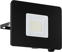 Foco de exterior LED Faedo 3 en negro, 30W