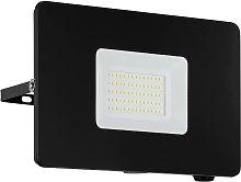 Foco de exterior LED Faedo 3 en negro, 50W