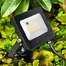 Foco de exterior LED Kingston, pica de tierra RGBW