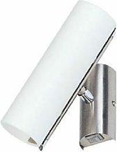 Foco de pared lámpara de punto de vidrio luz
