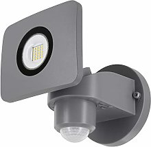 Foco de pared LED 20 W IP54 con detector de