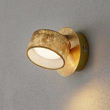 Foco de pared LED Anna dorado