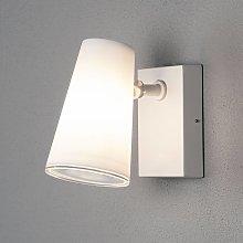 Foco de pared LED para exterior Fano, ajustable