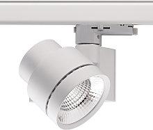 Foco de riel LED trifásico Globo mini 15°
