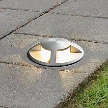 Foco de suelo LED empotrado Anina de aluminio